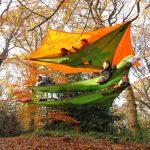 空中テントで話題!テントサイルの種類や張り方は?長所や短所は?