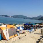 海キャンプ|海水浴で人気!福井県美浜町のダイヤ浜キャンプ場が楽しい!!