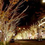 表参道イルミネーション2018!日本屈指の街路樹の輝きに注目!