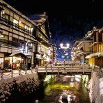 冬絶景!山形銀山温泉|街並みの雪景色が幻想的すぎる!!