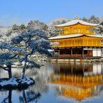 金閣寺|冬景色絶景!雪と金色のコントラストが美しすぎる!