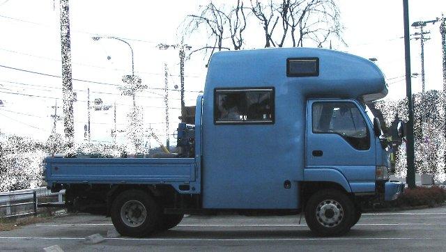 トラックキャンピングカー