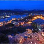 広島県桜の名所、千光寺公園の夜桜が最高!今年の見ごろは!?
