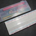 LED点灯実験に超便利なブレッドボードの使い方を徹底解説!